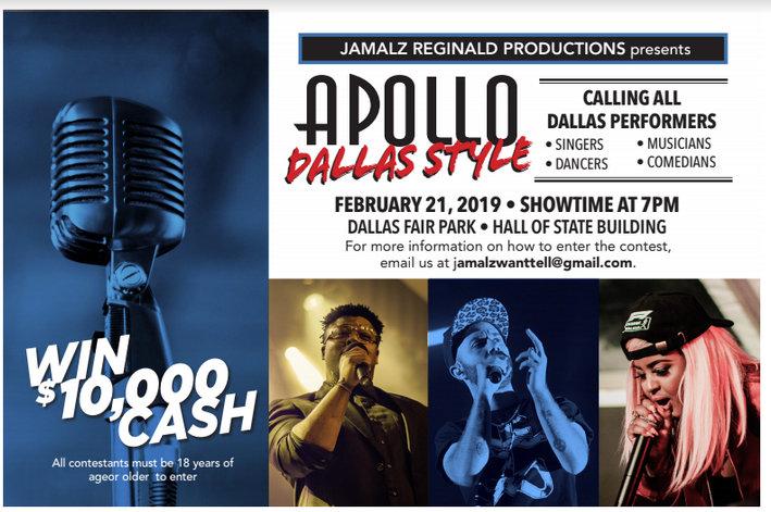 Apollo: Dallas Style: February 21, 2019