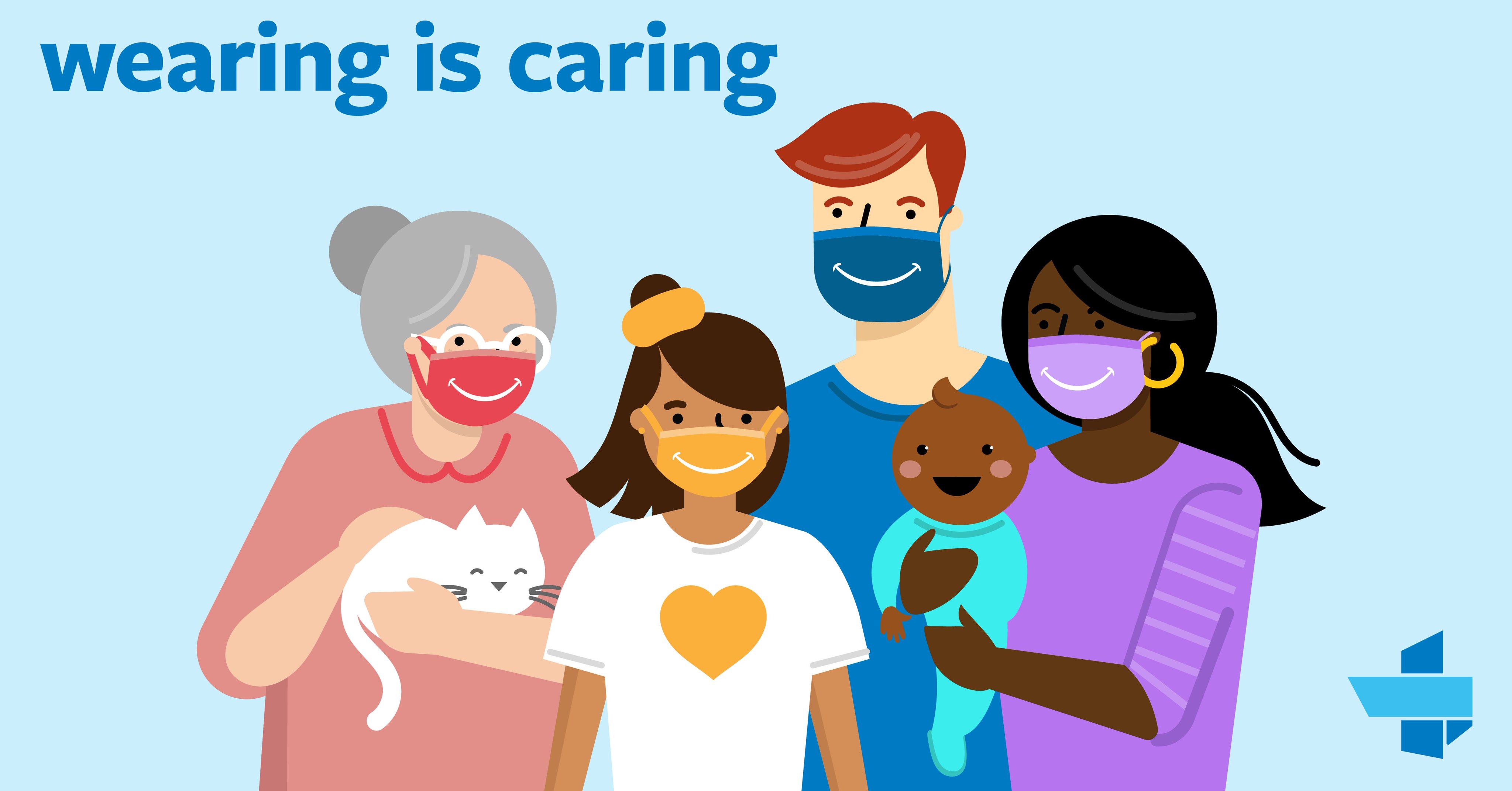 From The Texas Hospital Association: Wearing a mask helps keep #COVID19 from spreading. Wear a mask and protect your fellow Texans.