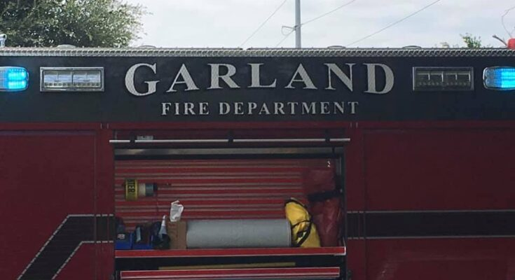 Photo Courtesy of the Garland Fire Department