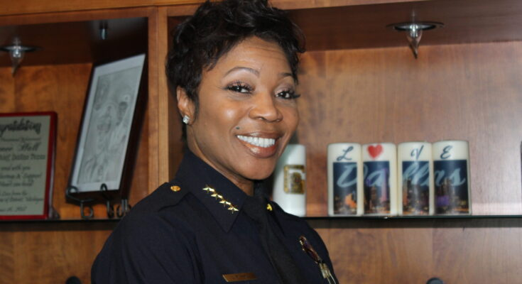 Dallas Police Chief U. Reneé Hall/Photo by Eva D. Coleman