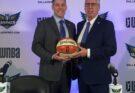 Dallas Wings GM Greg Bibb (left) and Former Head Coach Brian Agler