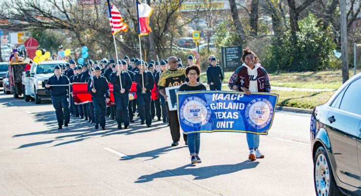 2020 Garland NAACP MLK Parade and March/Photo Courtesy of Simmons Event Photography