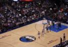 Stock Footage of a Previous Dallas Mavericks Game